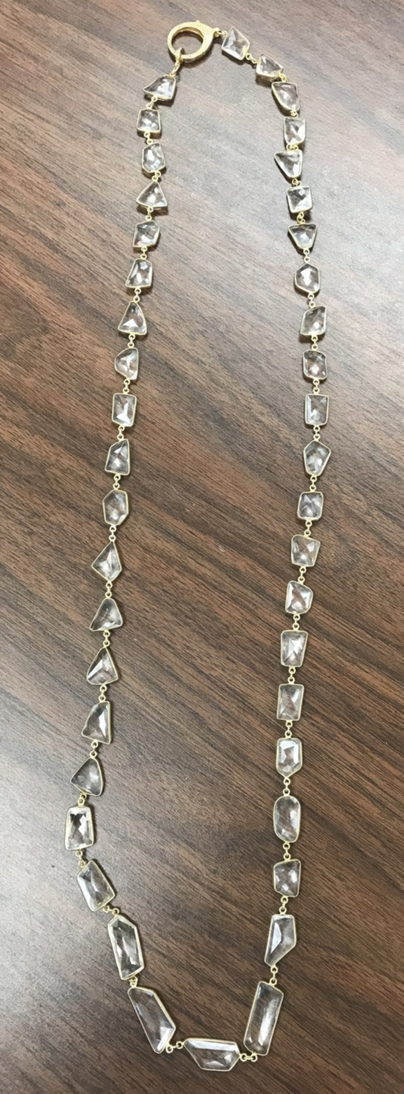 Quartz Long Necklace
