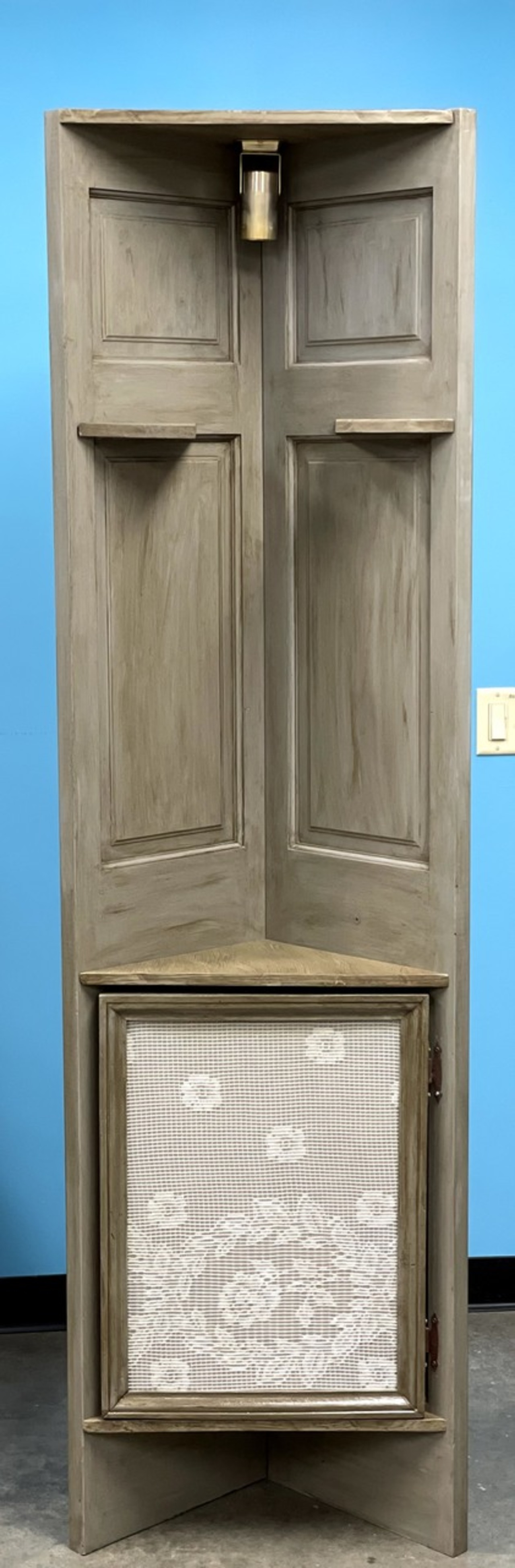 Item A - Corner Cabinet Display