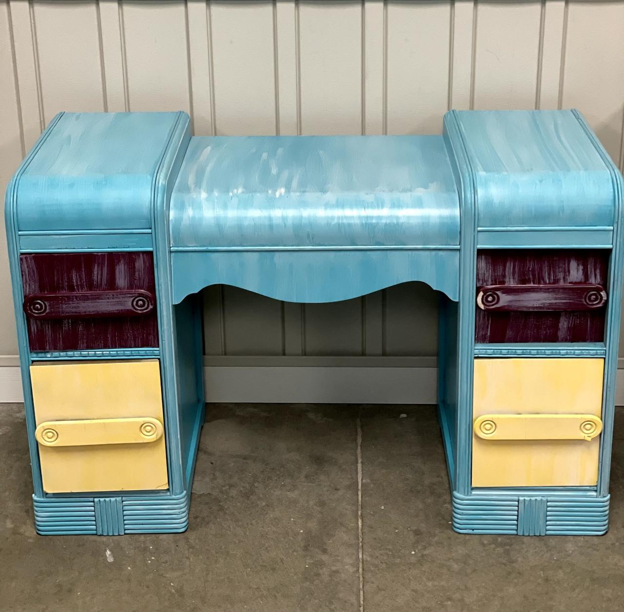 Item E - Multi-color Desk