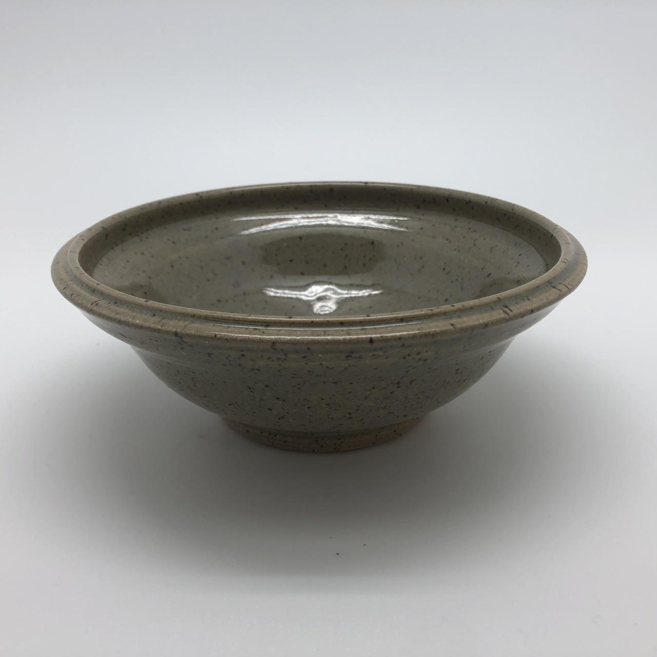 Khaki Speckled Clay Bowl
