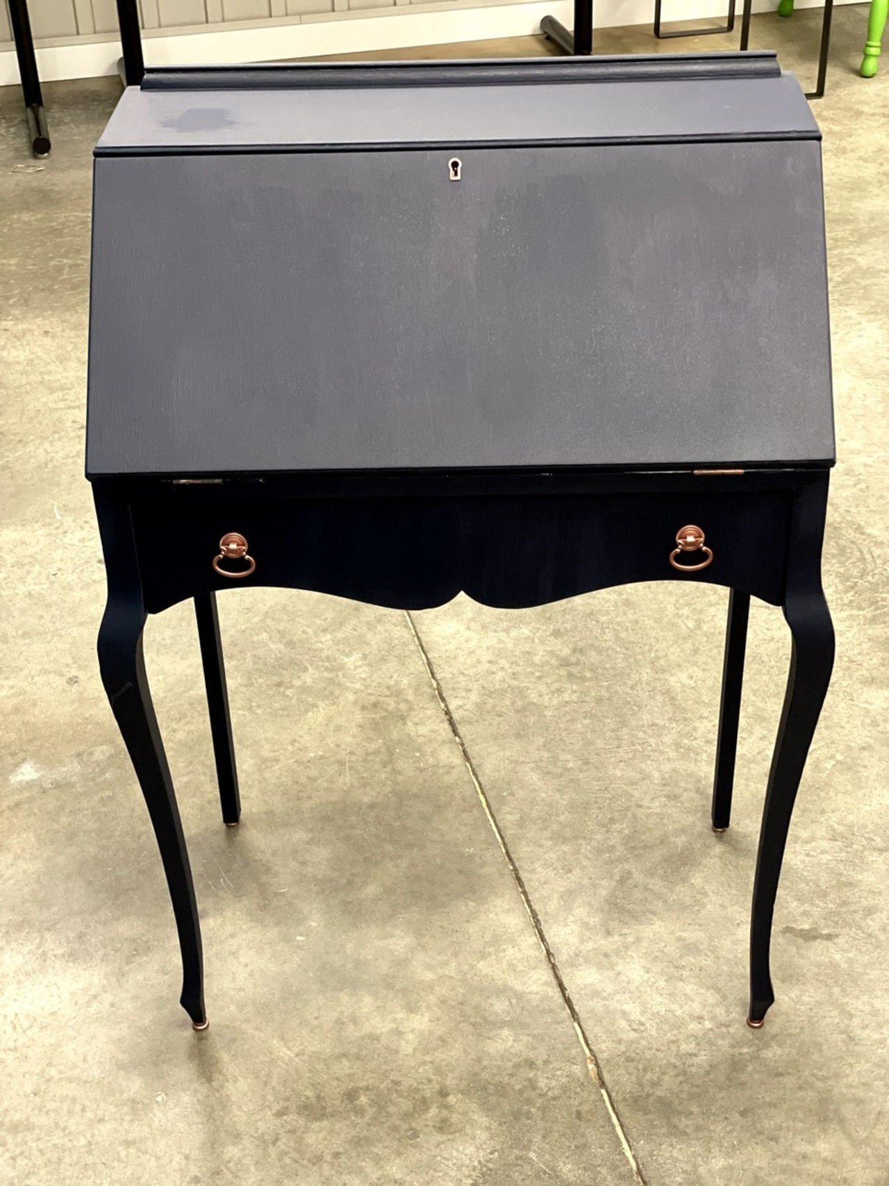 Item ZI - Vintage Secretary Desk