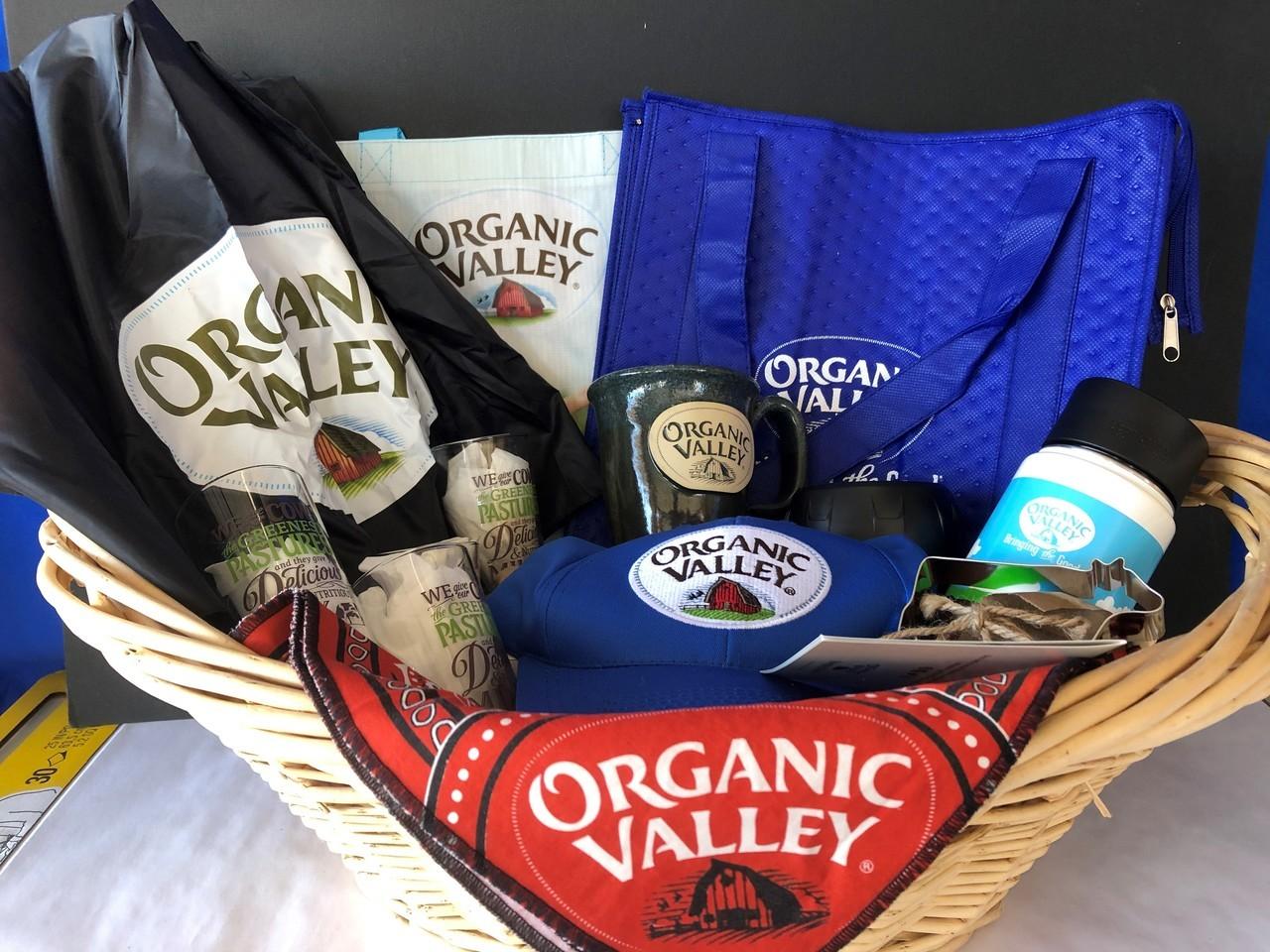 Organic Valley Basket