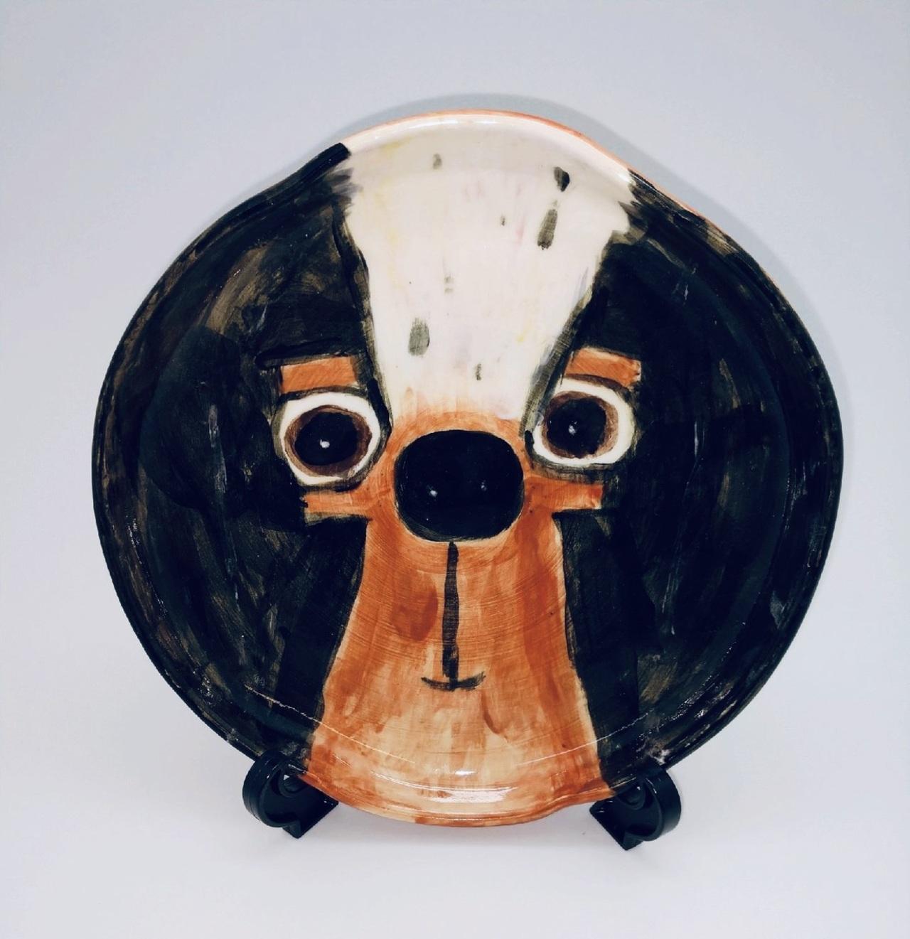 Smokey the Beagle Plate