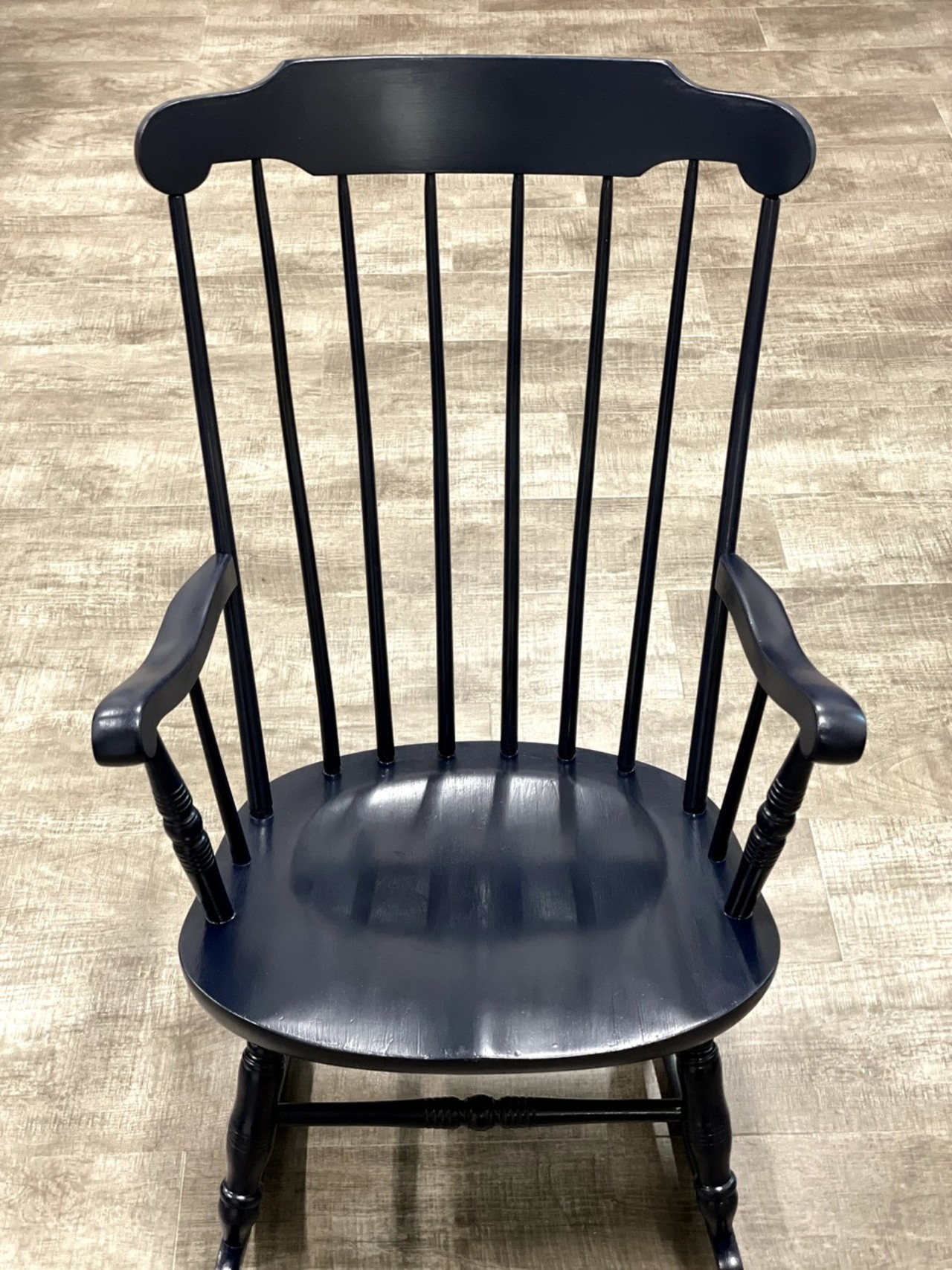 Item ZZY - Refinished Boston Rocking Chair