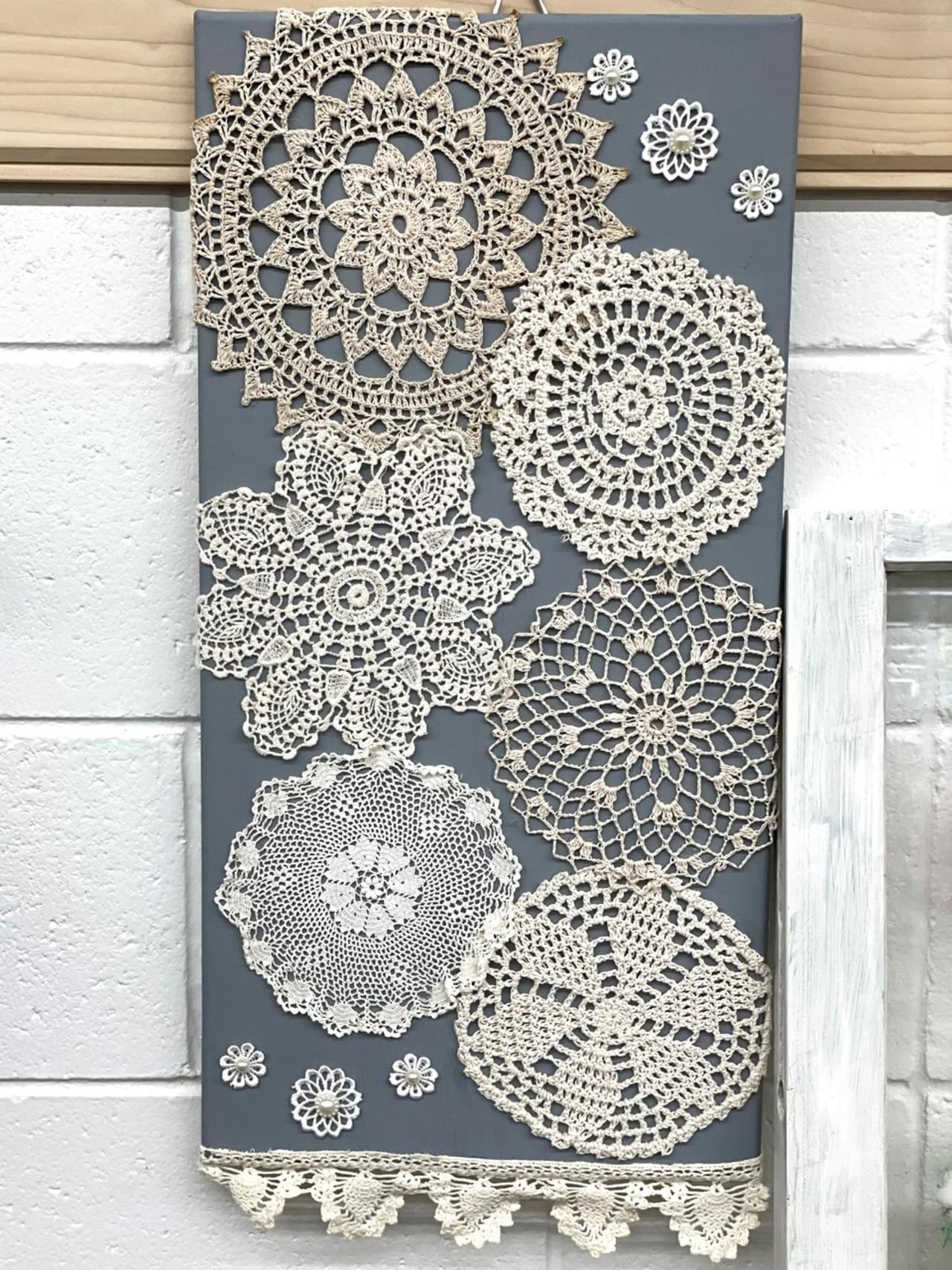 Item ZZZD - Lace Wall Decor