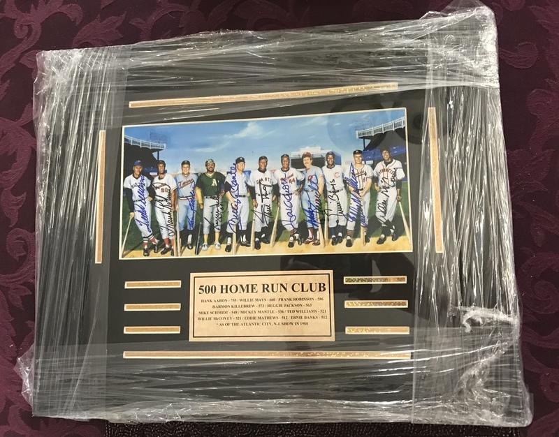 500 Home Run Club Framed Photo