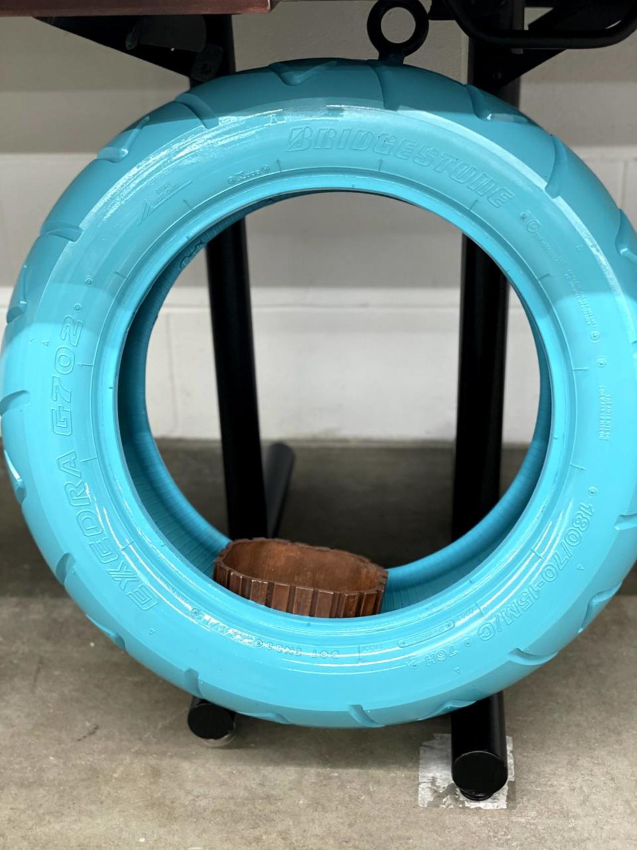 Item ZZZR - Decorative Tire Planter