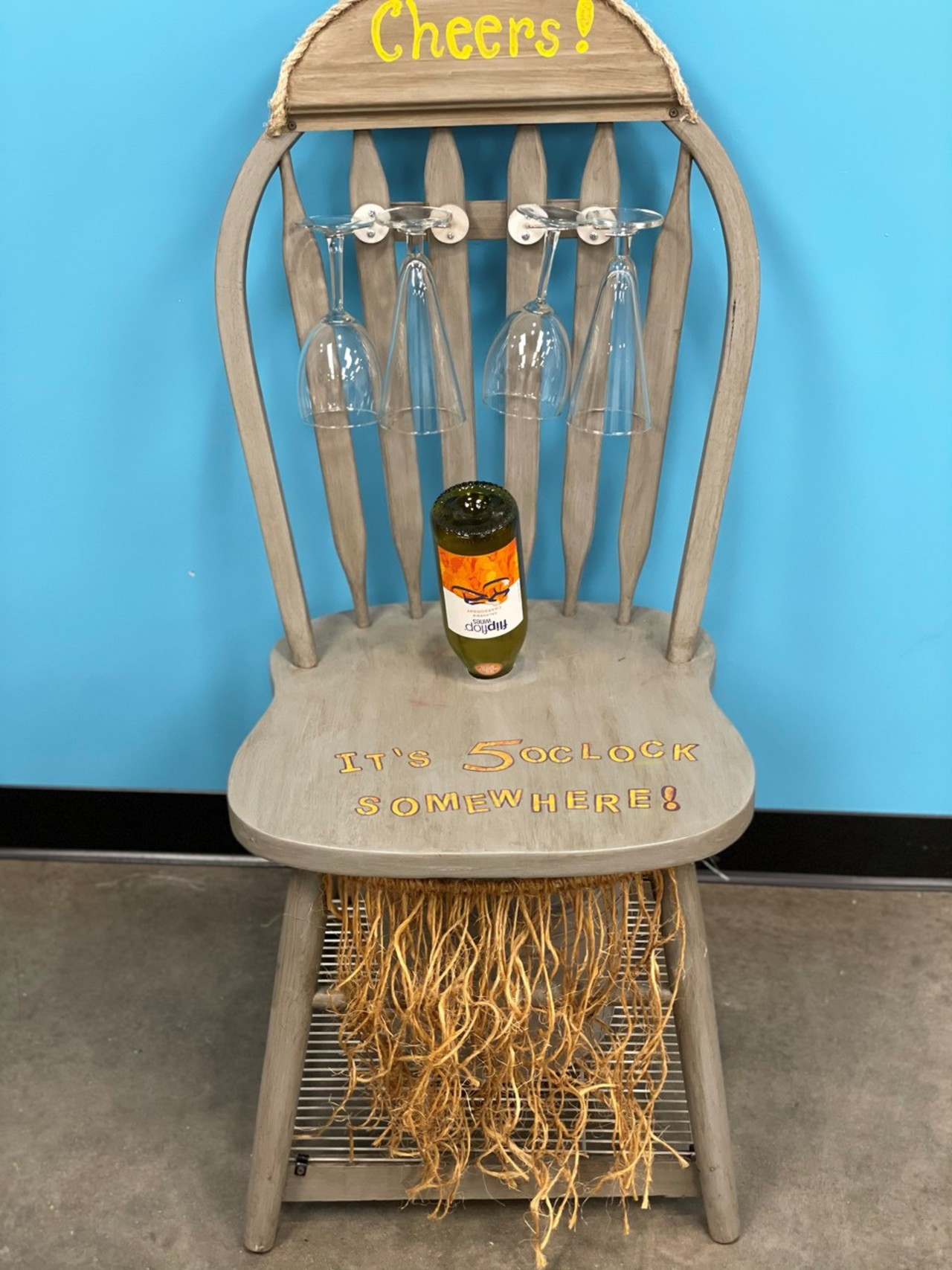 Item Z  It's 5 O'Clock Somewhere Chair