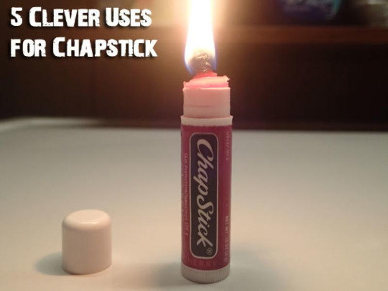 Chapstick Candle