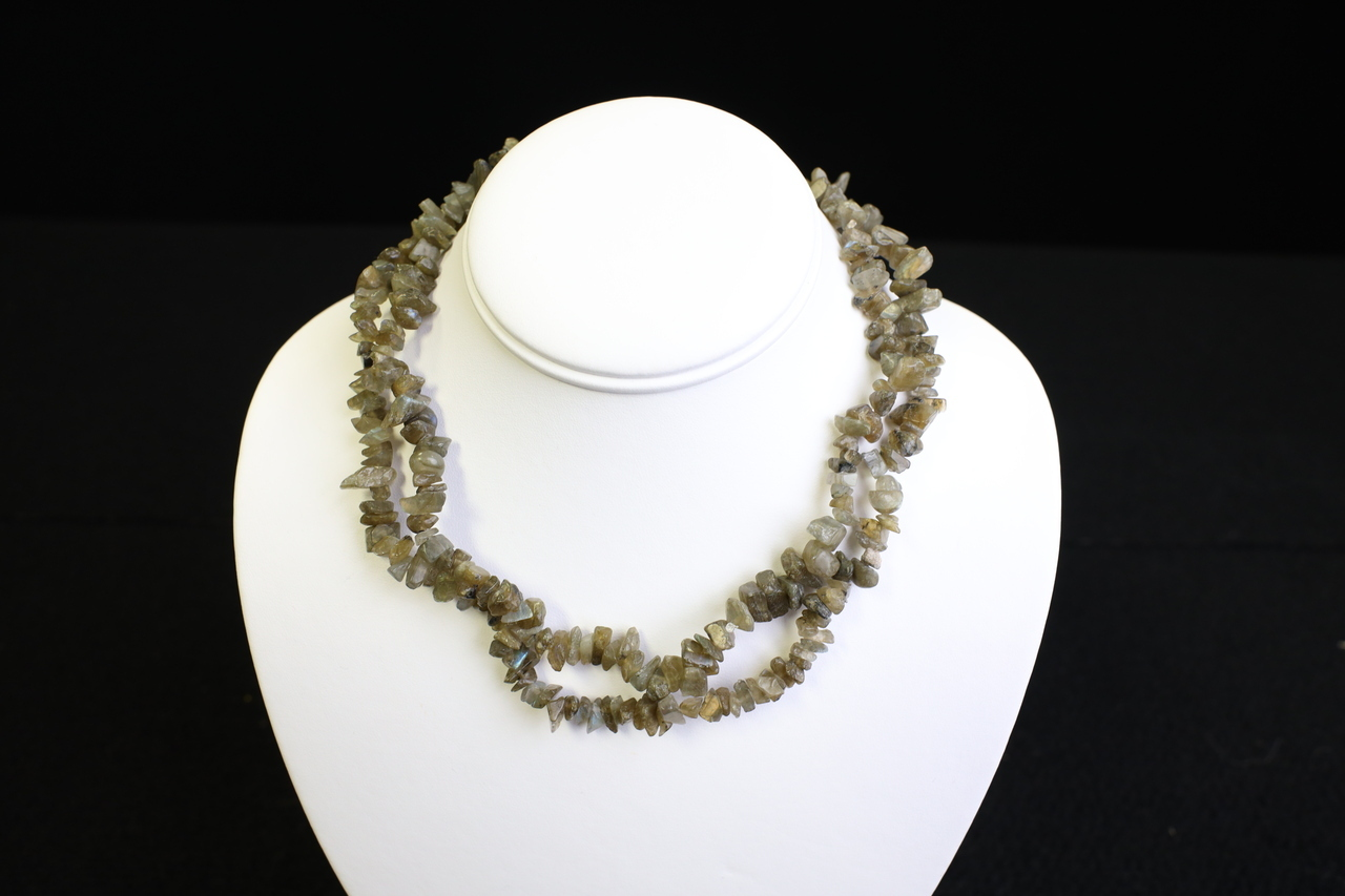 Labraderite necklace