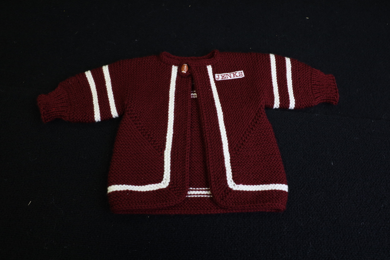 Hand Knitted Jenks Cardigan