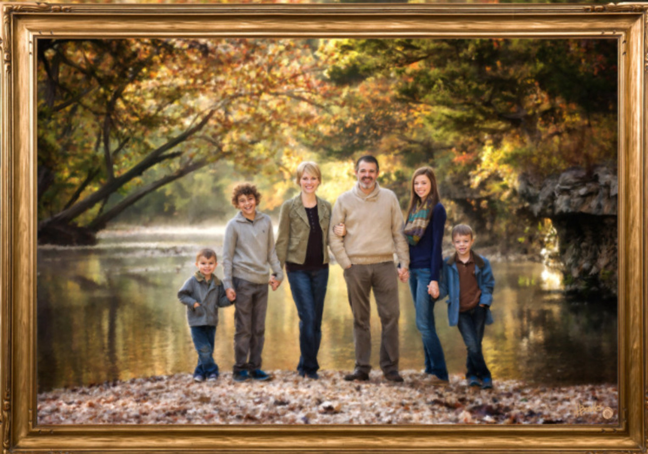 Fine Oil Portrait Package from Beadles Portraits