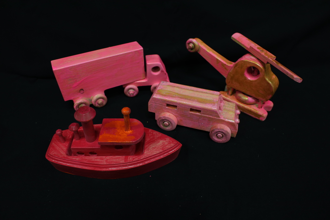 Pink Toy set by LLH Students
