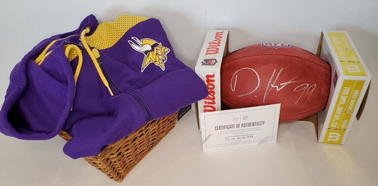 Signed Danielle Hunter Football