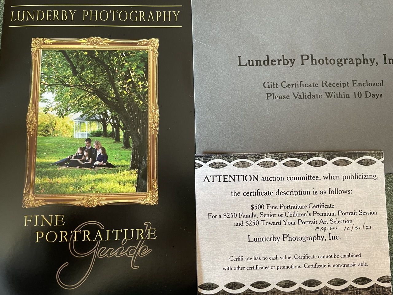 417. Lunderby Photography Package