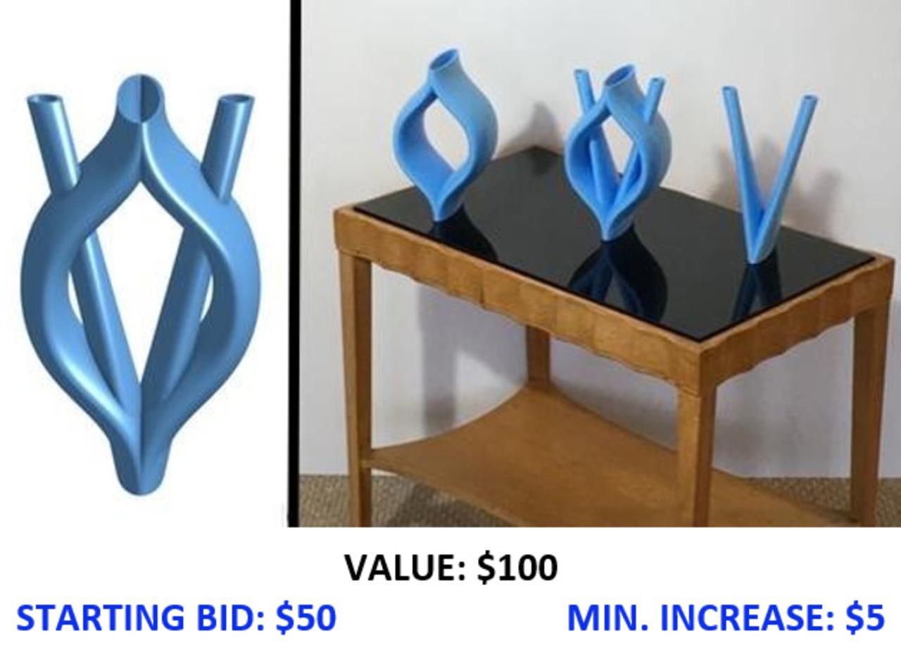 Blended: 3D Printed Vessels by Bill Klimley