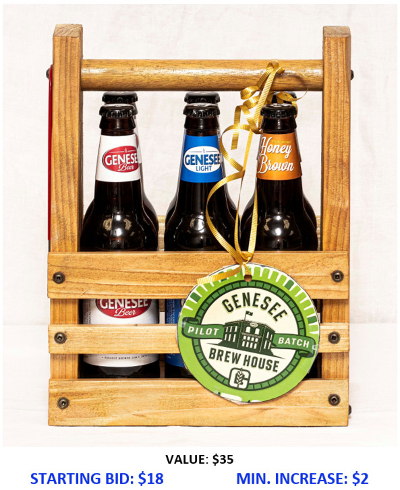 Taste of Rochester Beer Caddy
