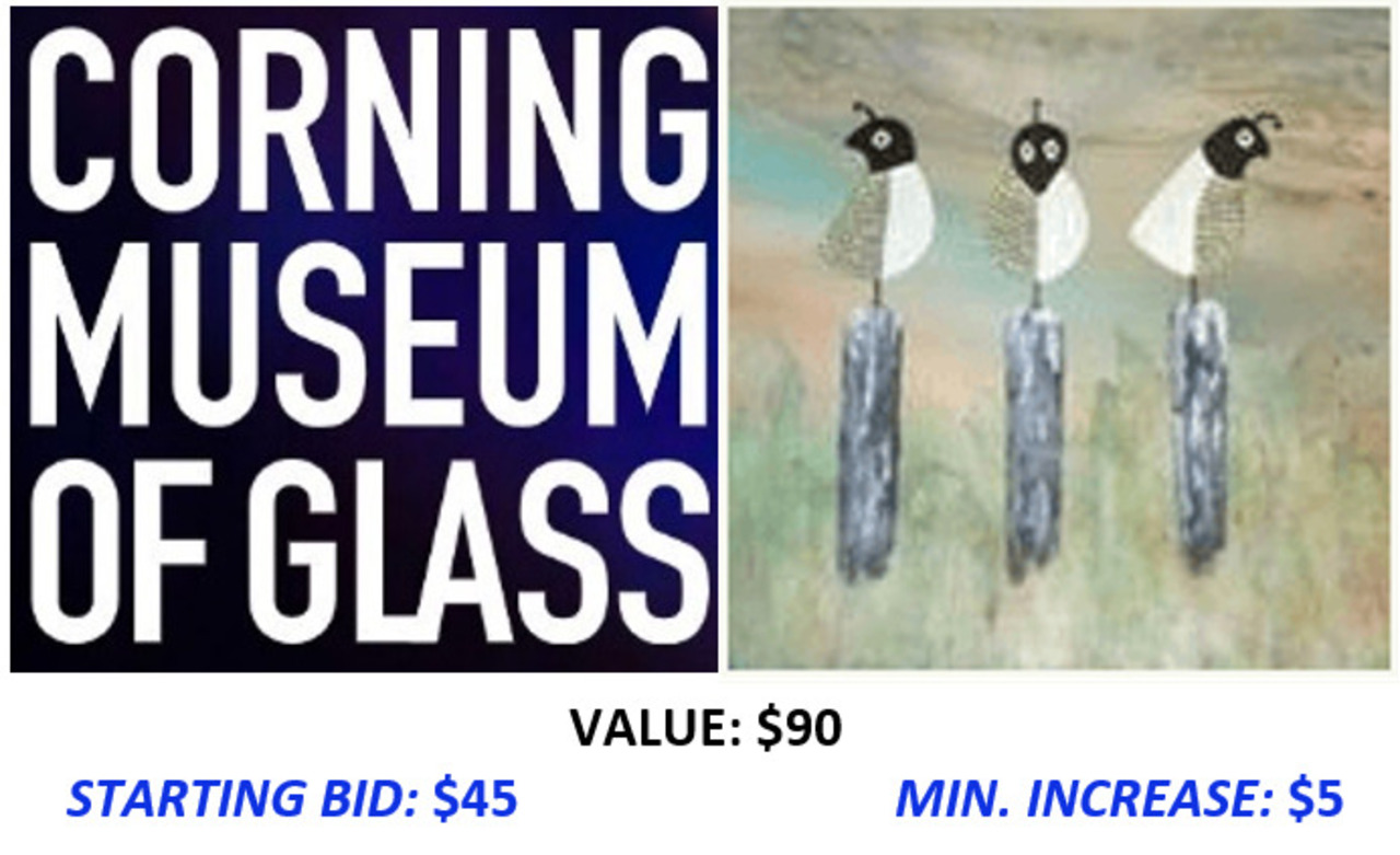 Corning Day Trip Package