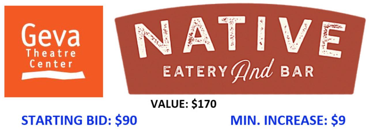 Geva Theatre and Native Eatery