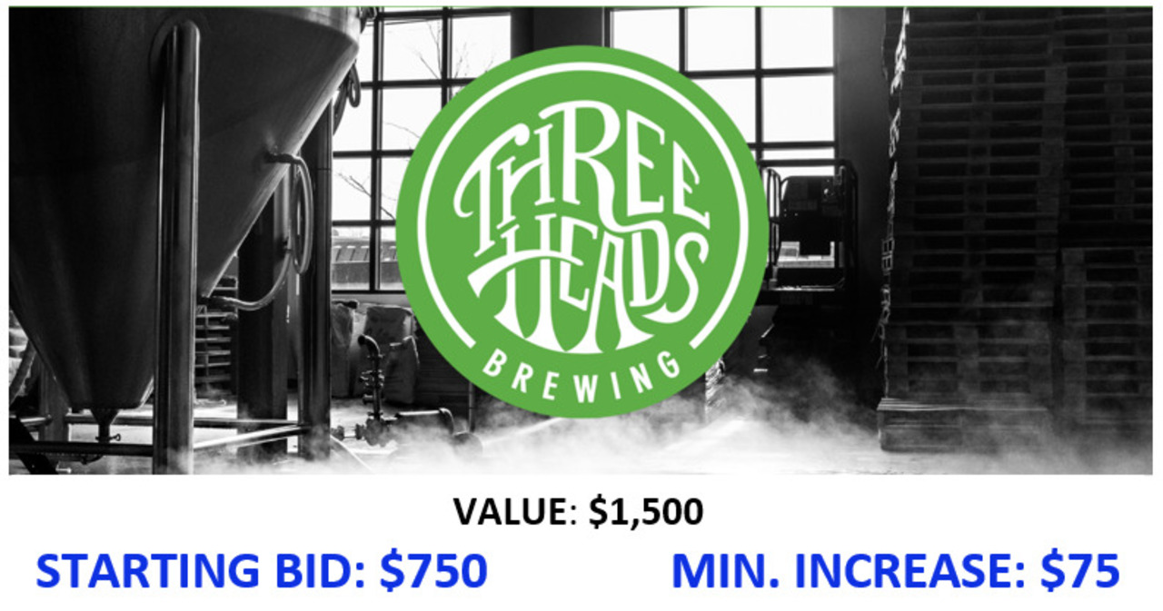 5. Design and Brew Pilot Batch at Three Heads Brewing