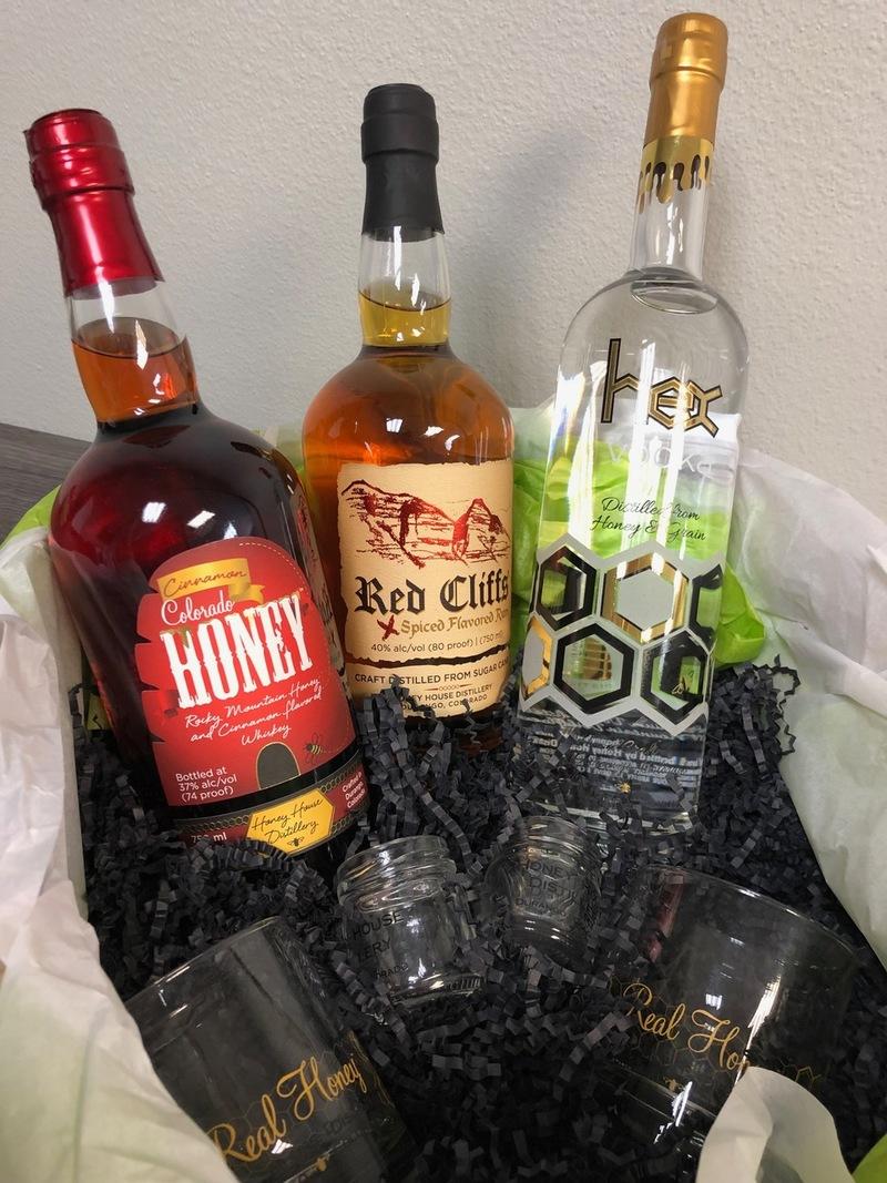 16. Colorado Honey House Distillery Beverage Package