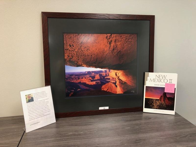 18. Rimrock Sunrise Canyon Lands (1995) - David Muench