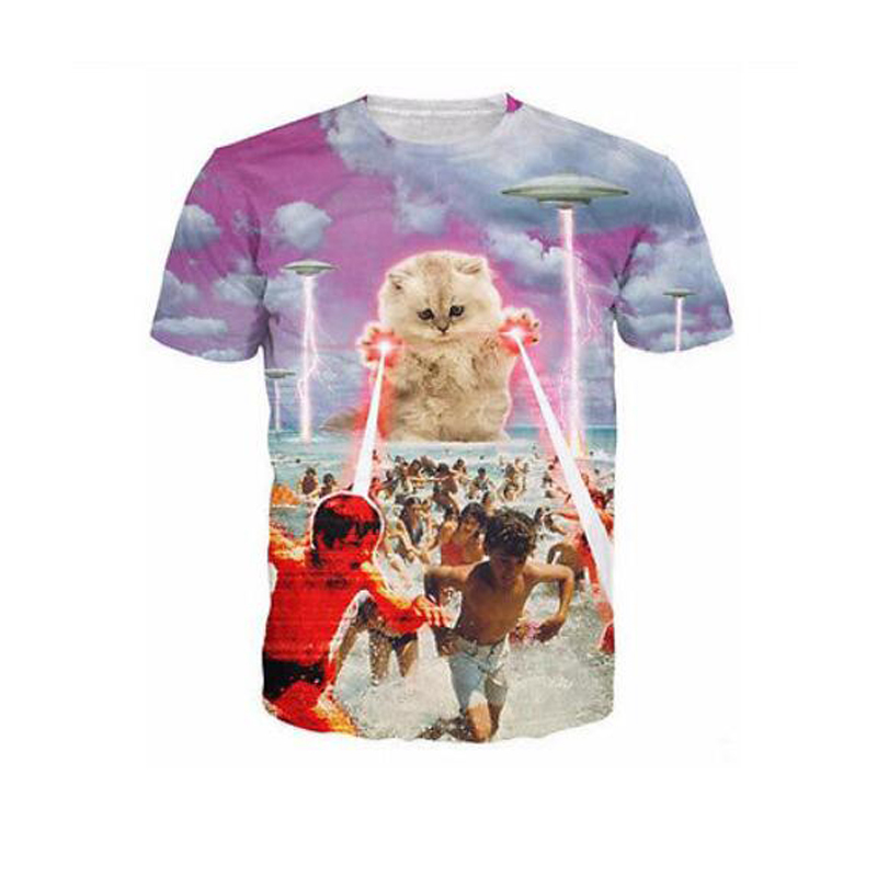 Lazer Beam Cat Shirt