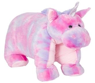 "40"" Magic the Tie-Dye Unicorn Pillow Chum"
