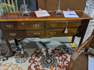 Wooden Entryway Table