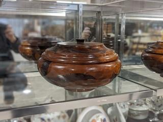 Haitian Wooden Bowl
