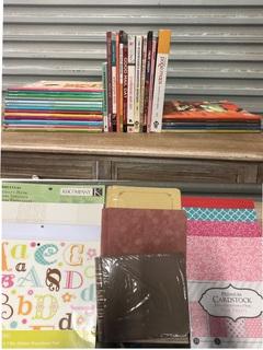 Huge Lot of Scrapbooking/Craft Books