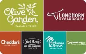 $100 Choice of 6 Restaurants Gift Card