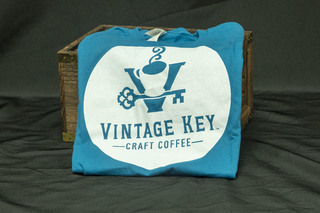 378 - Vintage Key Craft Coffee T-Shirt