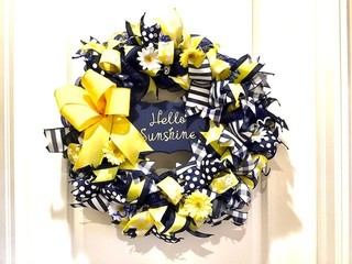 "540 - ""Hello Sunshine"" Wreath"