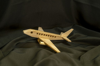 621 - Wooden Airplane