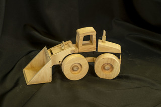 648 -Wooden Front End Loader