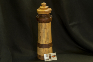 684 - Original Woodturning Lighthouse