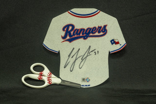 842 - Cody Allen Signed Jersey pennant