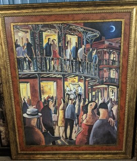 Large New Orleans Painting
