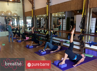 BREATHE YOGA & PURE BARRE