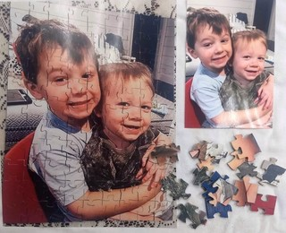 PERSONAL JIGSAW PUZZLE WITH YOUR PHOTO