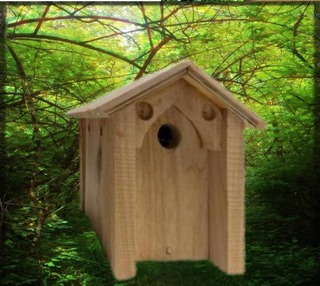 HANDCRAFTED NESTING BOX