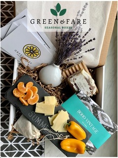GREEN AND FARE SUMMER GIFT BOX