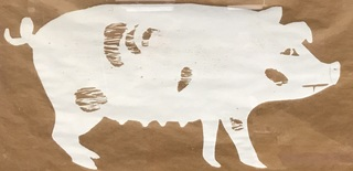 Picture Perfect Pig Print
