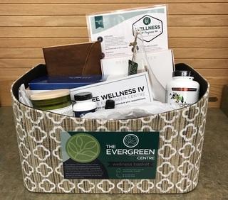 Evergreen Wellness Basket