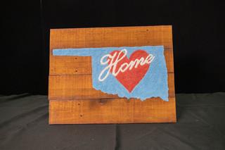 Home Oklahoma Sign