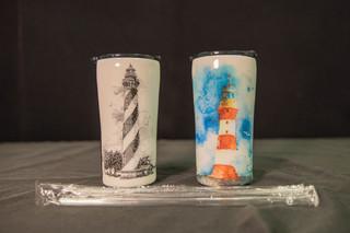 Handcrafted Light House Tumbler Gift Set