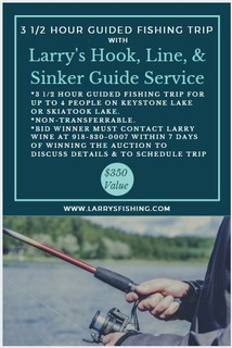 3.5 Hour Guided Fishing Trip with Larry