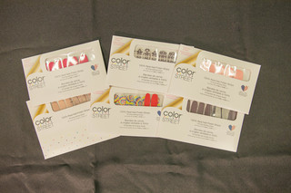 Color Street Nail Polish Strips + Accent Nails
