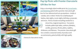 Pop Up Picnic from Cocoa Events and Marketing